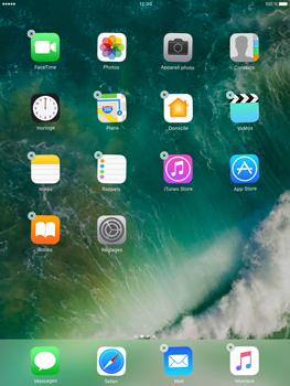 Apple iPad Pro 9.7 - iOS 10 - iOS features - Supprimer et restaurer les applications iOS par défaut - Étape 5