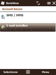 HTC T3333 Touch II - E-mail - Handmatig instellen - Stap 5