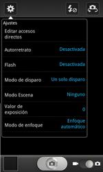 Samsung I8160 Galaxy Ace II - Funciones básicas - Uso de la camára - Paso 5