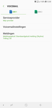 Samsung galaxy-j4-plus-dual-sim-sm-j415fn - Voicemail - Handmatig instellen - Stap 9