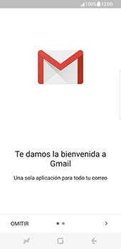 Samsung Galaxy S8 - E-mail - Configurar Gmail - Paso 5