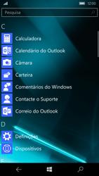 Microsoft Lumia 550 - Segurança - Como ativar o código de bloqueio do ecrã -  3