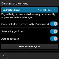 BlackBerry Classic - Internet - Manual configuration - Step 16