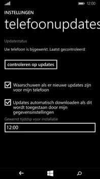Microsoft Lumia 640 XL - Software updaten - Update installeren - Stap 7