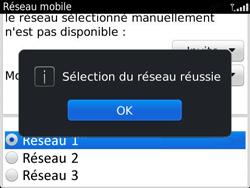 BlackBerry 9360 Curve - Réseau - Utilisation à l