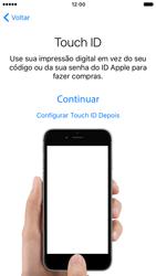Apple iPhone 7 - iOS 10 - Primeiros passos - Como ativar seu aparelho - Etapa 11