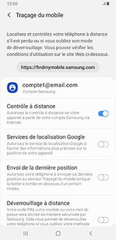 Samsung Galaxy S9 Plus - Android Pie - Appareil - configurer Localiser mon appareil - Étape 7