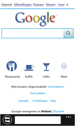 Nokia Lumia 800 - Internet - Internet gebruiken - Stap 5