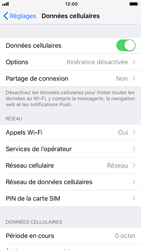 Apple iPhone 6 - iOS 12 - Internet - activer ou désactiver - Étape 4