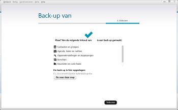 Nokia 216 - Software - Back-up maken of terugplaatsen - Stap 6