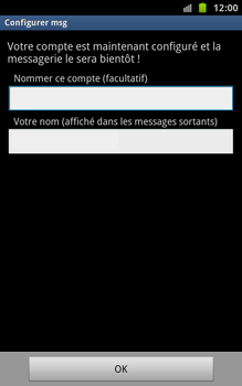 Samsung N7000 Galaxy Note - E-mail - Configuration manuelle - Étape 11
