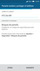 HTC One M9 - Primeros pasos - Activar el equipo - Paso 14