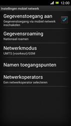 Sony ST26i Xperia J - Netwerk - Gebruik in het buitenland - Stap 10