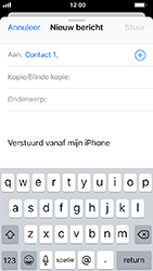 Apple iphone-5s-ios-12 - E-mail - Bericht met attachment versturen - Stap 6