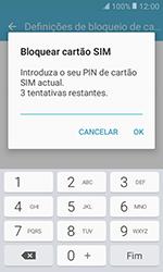 Samsung Galaxy Xcover 3 (G389) - Segurança - Como ativar o código PIN do cartão de telemóvel -  8