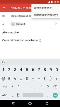 Nokia 6 (2018) - E-mail - envoyer un e-mail - Étape 9