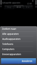 Nokia C7-00 - Bluetooth - koppelen met ander apparaat - Stap 11