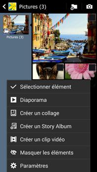 Samsung Galaxy Note 3 - Photos, vidéos, musique - Envoyer une photo via Bluetooth - Étape 6