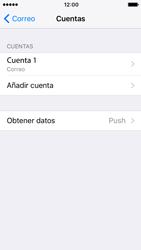 Apple iPhone SE iOS 10 - E-mail - Configurar correo electrónico - Paso 26