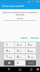 Sony Xperia Z5 Compact - Sécuriser votre mobile - Activer le code de verrouillage - Étape 8