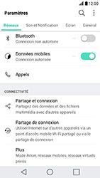 LG K10 2017 - Réseau - Utilisation à l