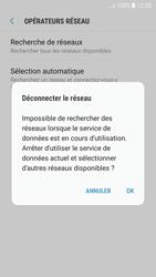 Samsung A520F Galaxy A5 (2017) - Android Nougat - Réseau - Sélection manuelle du réseau - Étape 8