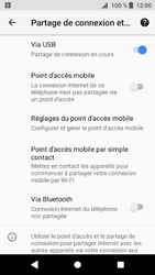 Sony Xperia XZ1 - Internet et connexion - Utiliser le mode modem par USB - Étape 11
