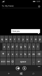 Microsoft Lumia 535 - Mms - Sending a picture message - Step 7