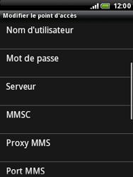 HTC A3333 Wildfire - Internet - configuration manuelle - Étape 10