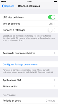 Apple iPhone 6 Plus iOS 9 - Réseau - Changer mode réseau - Étape 4