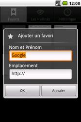 LG GW620 - Internet - navigation sur Internet - Étape 6