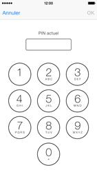 Apple iPhone 5s - Sécuriser votre mobile - Personnaliser le code PIN de votre carte SIM - Étape 6