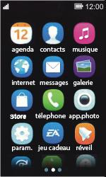 Nokia Asha 311 - E-mail - envoyer un e-mail - Étape 1