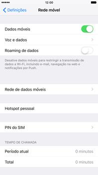 Apple iPhone 6s Plus - Internet no telemóvel - Como ativar os dados móveis -  5