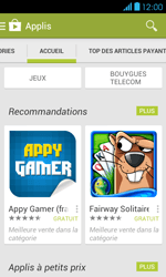 Bouygues Telecom Bs 401 - Applications - Télécharger une application - Étape 6