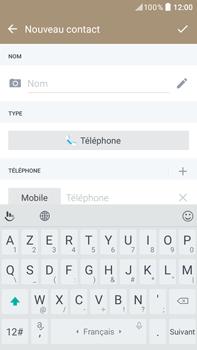 HTC Desire 825 - Contact, Appels, SMS/MMS - Ajouter un contact - Étape 6