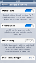 Apple iPhone 5 (iOS 6) - internet - data uitzetten - stap 5