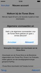 Apple iPhone 5 (iOS 8) - apps - account instellen - stap 12