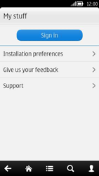 Nokia 808 PureView - Applications - Downloading applications - Step 5
