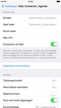 Apple iPhone 6 Plus met iOS 9 (Model A1524) - Contacten en data - Contacten kopiëren van SIM naar toestel - Stap 6