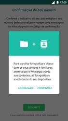 Nokia 5 - Aplicações - Como configurar o WhatsApp -  6