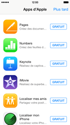 Apple iPhone 5s - iOS 8 - Applications - Créer un compte - Étape 3