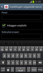 Samsung I9105P Galaxy S II Plus - E-mail - Handmatig instellen - Stap 13