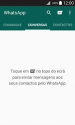 Samsung Galaxy Trend 2 Lite - Aplicações - Como configurar o WhatsApp -  11