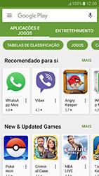 Samsung Galaxy A3 (2017) - Aplicações - Como pesquisar e instalar aplicações -  4