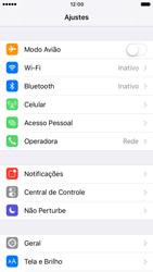 Apple iPhone iOS 10 - Internet (APN) - Como configurar a internet do seu aparelho (APN Nextel) - Etapa 3