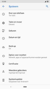 Nokia 8-sirocco-ta-1005-android-pie - Software updaten - Update installeren - Stap 6