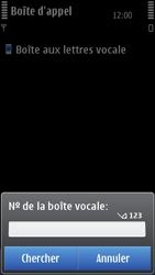 Nokia C7-00 - Messagerie vocale - configuration manuelle - Étape 7