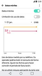 LG K10 (2017) - Internet - Activar o desactivar la conexión de datos - Paso 4