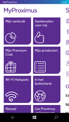 Microsoft Lumia 950 - Applicaties - MyProximus - Stap 13